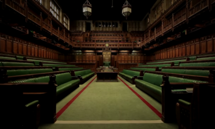 WHAT COMMANDS A MAJORITY IN THE HOUSE OF COMMONS?