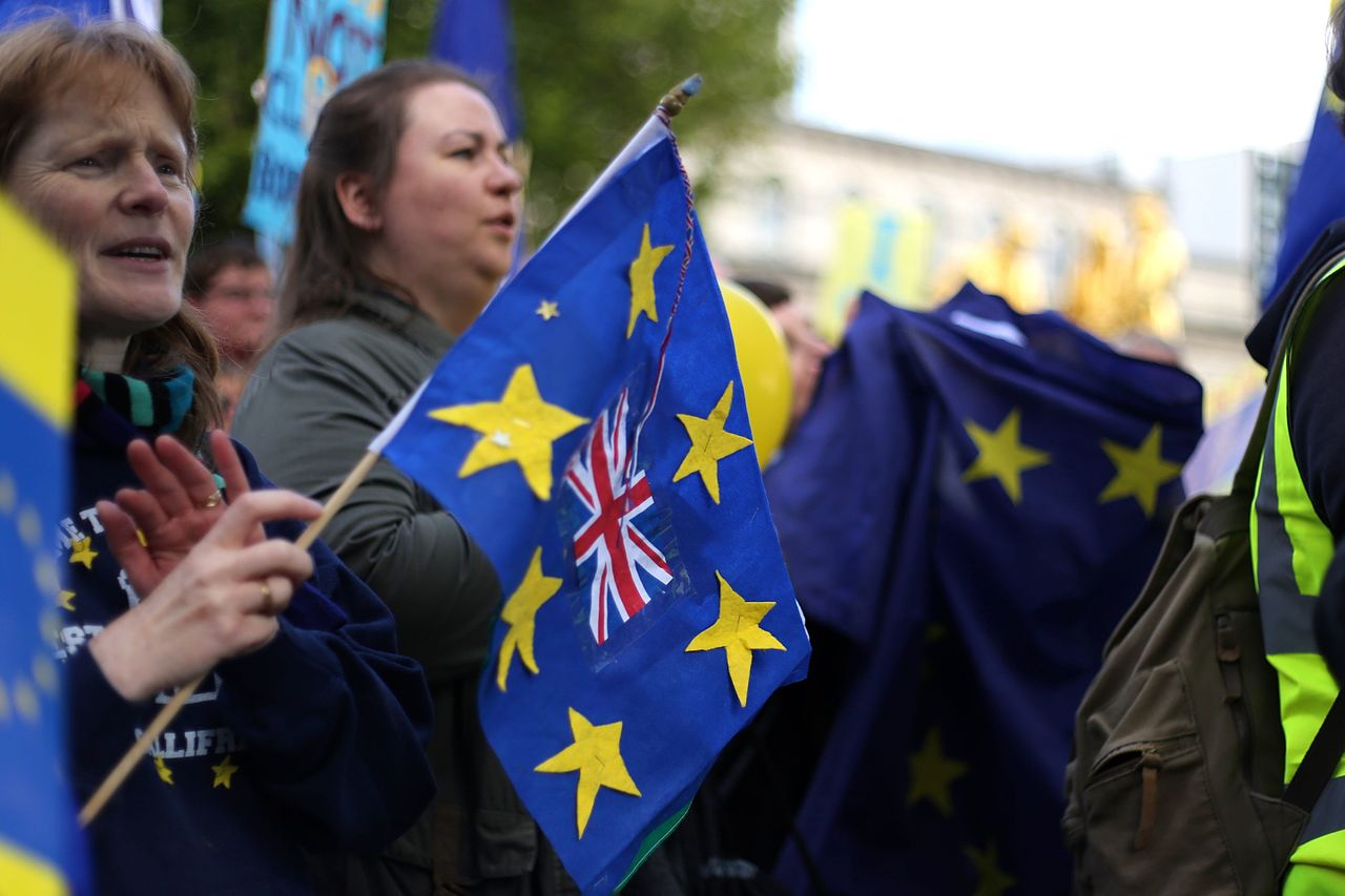 Why the anti-Brexit march did not win over the British public