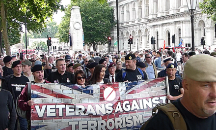 Veterans Against Terrorism call to support Gerard Batten