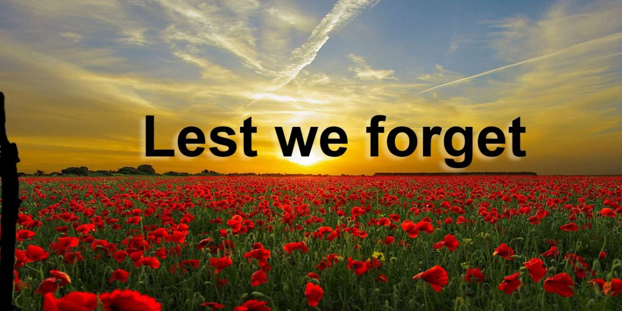 REMEMBRANCE SUNDAY – IN THE TIMES OF 'COVID'