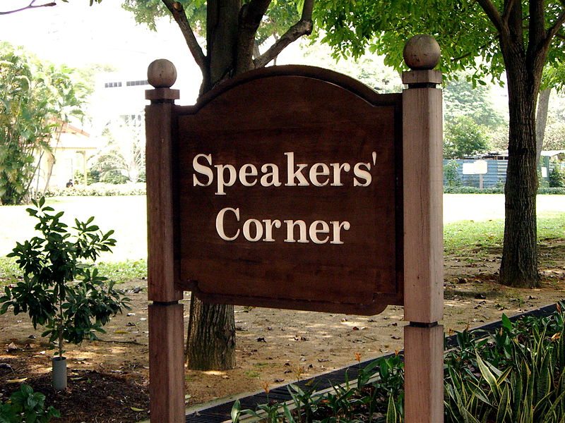 Stand for Free Speech – Speakers' Corner