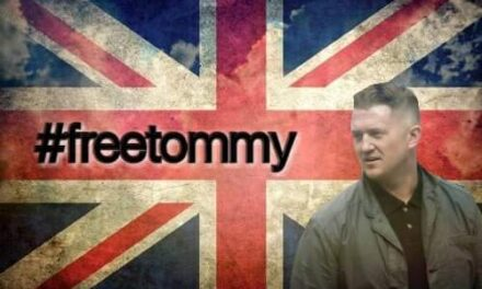 TOMMY ROBINSON APPEAL CANCELLED