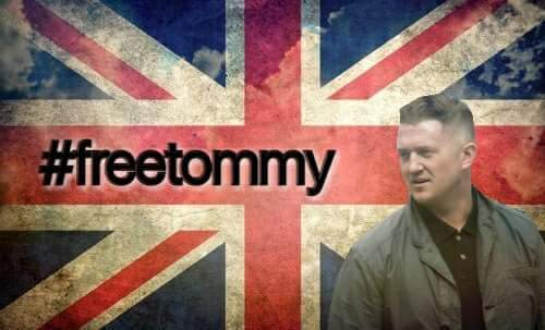 Speech given at the Free Tommy Robinson Rally in Whitehall