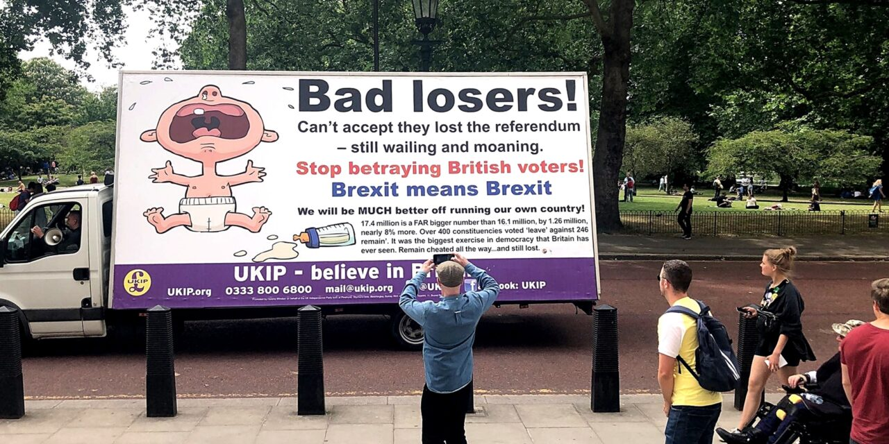 UKIP STITCHED UP BY OUR TREACHEROUS MEDIA – BUT IT'S OUR FAULT