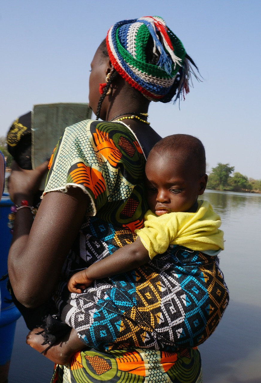 african woman photo