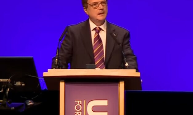 Gerard Batten at Conference
