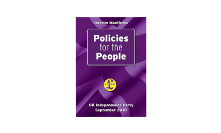 UKIP manifesto 2018