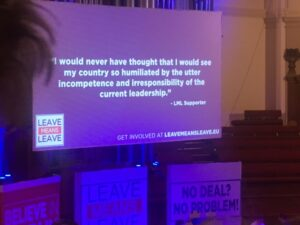"""""""Let's Go WTO"""" – Report on the Leave Means Leave Rally"""