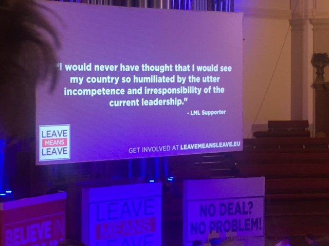 """Let's Go WTO"" – Report on the Leave Means Leave Rally"