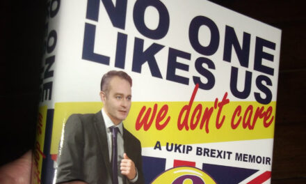 No One Likes Us, We Don't Care: a UKIP Brexit Memoir