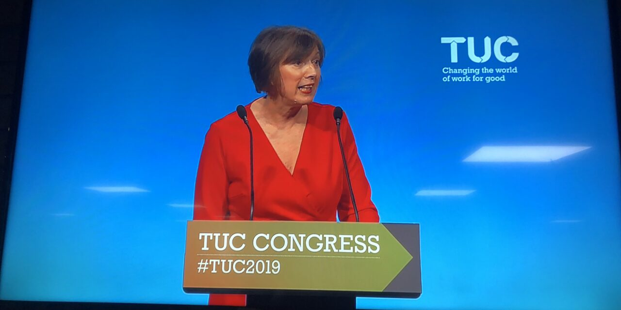 Report on the TUC conference, 8th – 11th September 2019