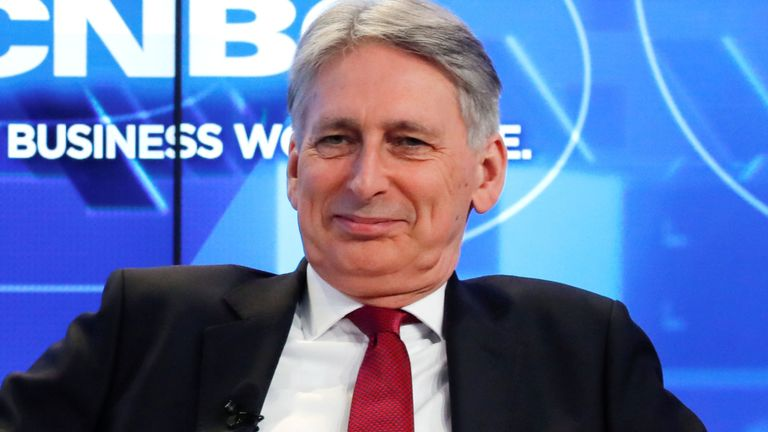 What Philip Hammond has been telling the Swiss