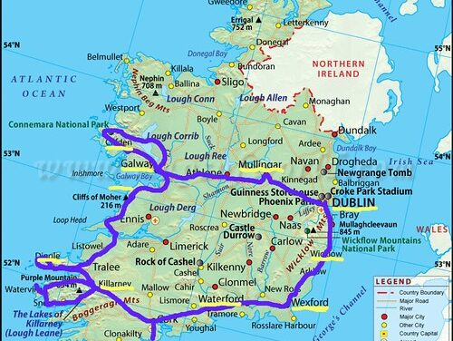 Who is better off, North or South in Ireland?