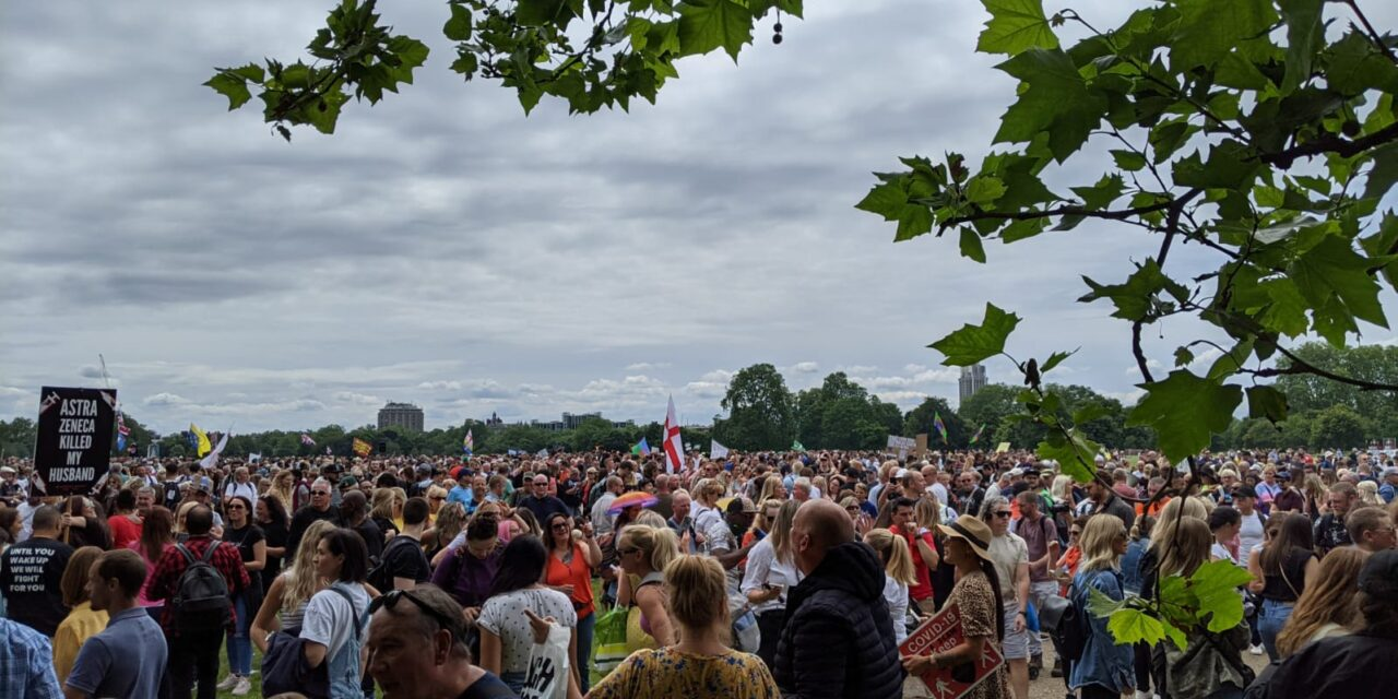Report from the Freedom March 26th June 2021